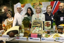 "Tasting of products of the Baltic Sea States is opened at Latvia's stand at the exhibition ""Green Week"" in Berlin"
