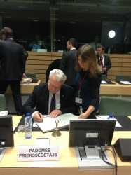 EU Ministers for Agriculture talk over Regulation on organic farming and CAP simplification