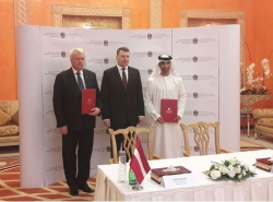 Minister Mr. Duklavs visits the United Arab Emirates, Dubai