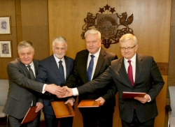 The Ministers for Agriculture of the Baltic States and Poland agreed on joint protection of farmers' interests in Brussels